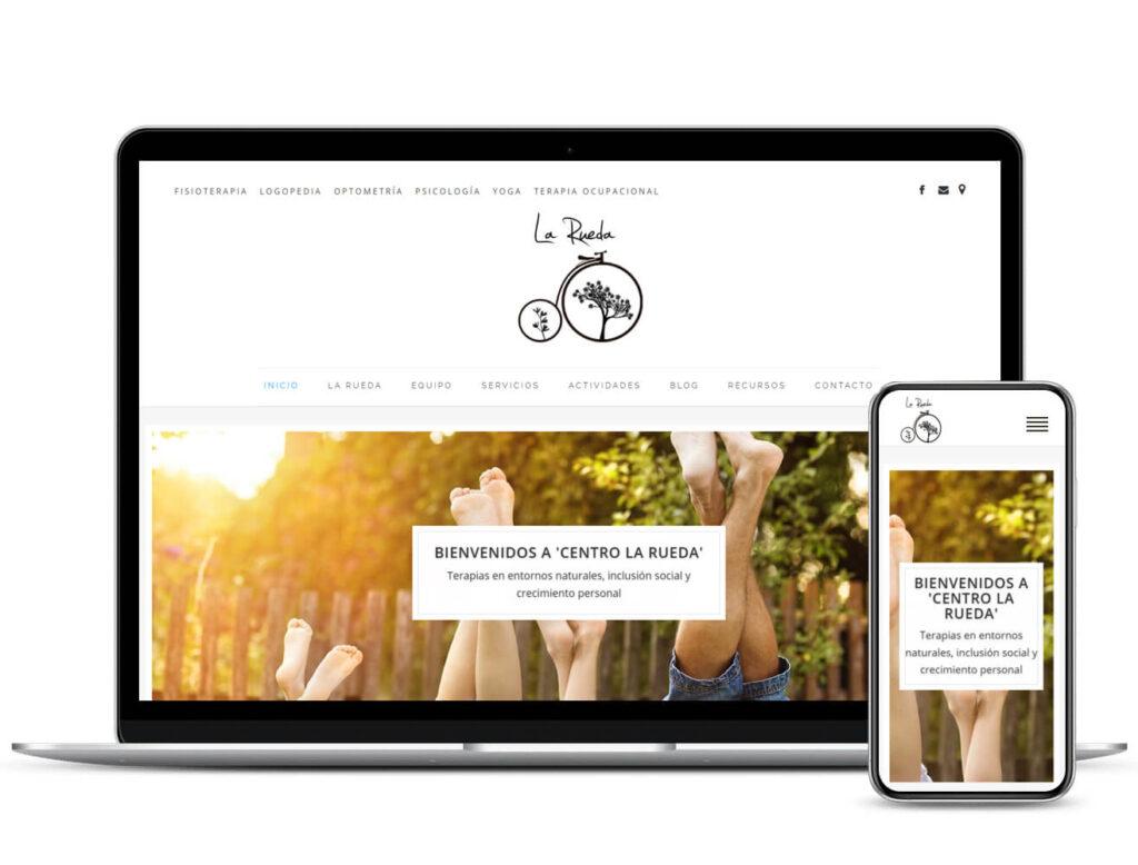 Diseño Web Centro la Rueda