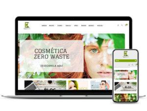 Diseño de tienda online Espacio Kirei