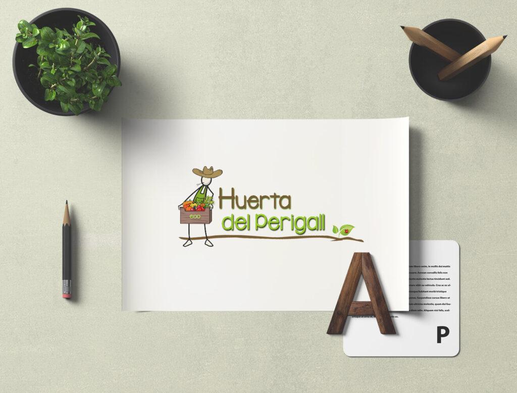 Diseño de logotipo Huerta del Perigall
