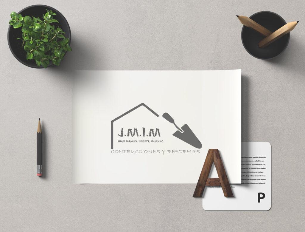 Diseño logotipo de profesional de reformas integrales