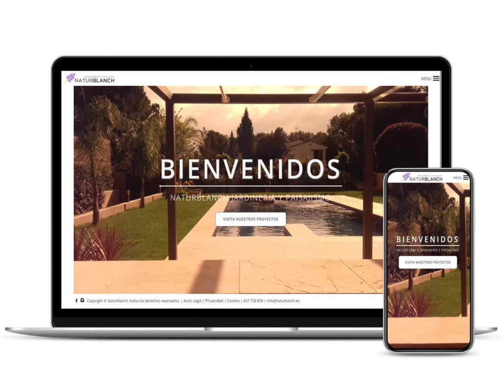 Diseño Web Naturblanch