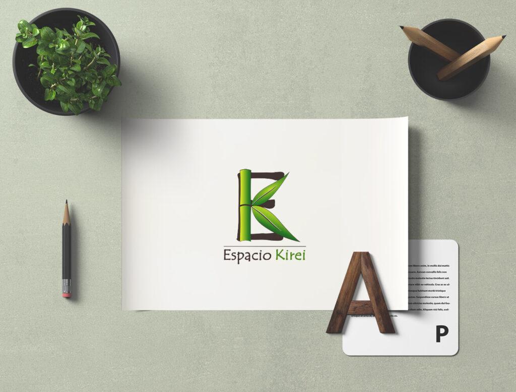 Diseño de logotipo Espacio Kirei